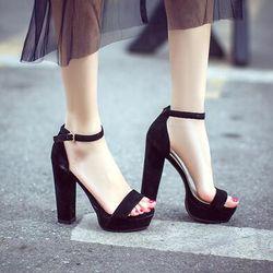 Giày cao gót quai ngang- CG306 giá sỉ