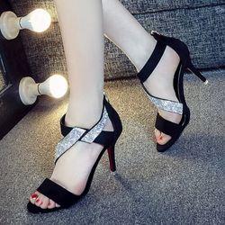 Giày cao gót đan chéo đá - CG80 giá sỉ