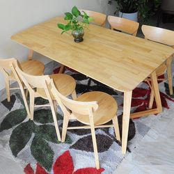 Bộ bàn phòng khách mặt gỗ Kiểu Milano giá tại xưởng giá sỉ