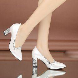Giày cao gót đính đá cánh én- CG682 giá sỉ