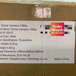 Camera quan sát Yi Dome 1080P IP Wifi Full HD YHS2016 giá giá sỉ