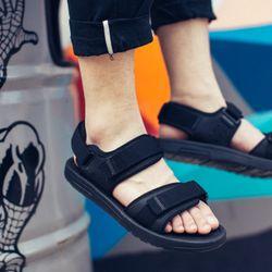 Giày Sandal nam nữ mã sp 337 màu đen giá sỉ
