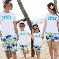 áo thun gia đình mùa hè A6 giá sỉ