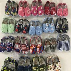 Giày vải tập đi cho bé trai bé gái 6-18th giá sỉ
