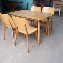 Bộ bàn ăn và 4 ghế giá sỉ