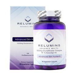 Viên uống trắng da Relumins glutathione 90 viên