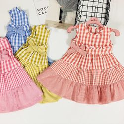 Đầm xô bé gái giá sỉ