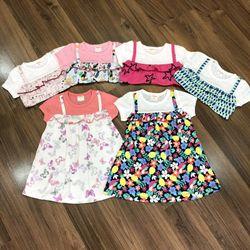 Váy yếm bé gái 2-7t giá sỉ, giá bán buôn
