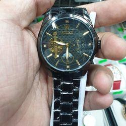 Đồng hồ cơ RRolexx trăng sao mới giá sỉ, giá bán buôn