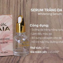 Serum dưỡng trắng da ngọc trai Whitening AIA