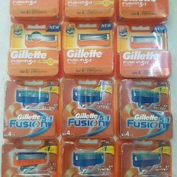 Hộp 4 lưỡi thay thế dao cạo râu Gillette Fusion 51 Nhật Bản