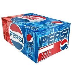 Thùng 24 Lon Nước Ngọt Có Gas Pepsi 330ml / Lon giá sỉ