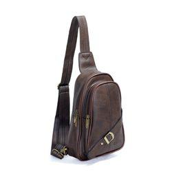 Túi đeo chéo CNT Unisex MQ20 sành điệu Nâu giá sỉ, giá bán buôn
