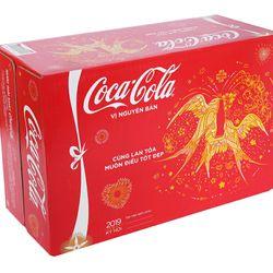 Thùng 24 lon nước ngọt Coca Cola 330ml giá sỉ