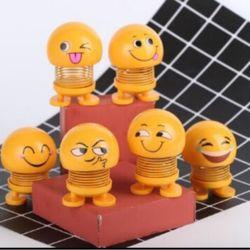 Emoji icon cảm xúc thú nhúng lò xò giá sỉ