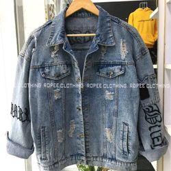 Áo Khoác Jeans Nam ảnh thật 1 giá sỉ, giá bán buôn
