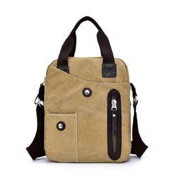 Túi đeo chéo vải Canvas -siêu bền-chất vải đẹp-kiểu dáng thời trang -kích thước 28x23x9cm TV12 giá sỉ