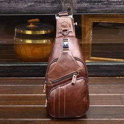 Túi đeo chéo da bò TC12 giá sỉ