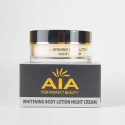 Kem dưỡng da toàn thân ban đêm Whitening Body Lotion Night Cream AIA