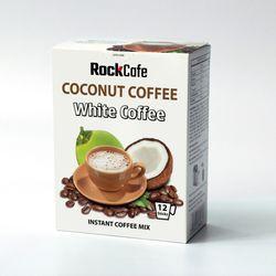 CÀ PHÊ DỪA - Rockcafe Coconut White Coffee - Hộp 12 gói x 20g giá sỉ