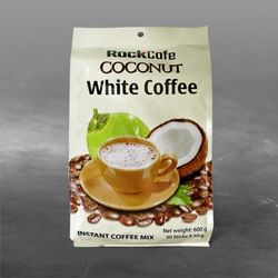 CÀ PHÊ DỪA - Rockcafe Coconut White Coffee - Bịch 30 gói