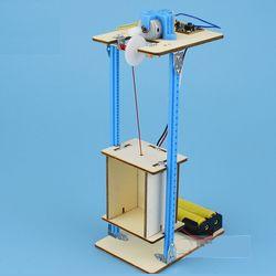 mô hình thang máy - đồ chơi stem giá bán buôn bán sỉ giá sỉ