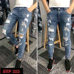 Quần Jeans Nam Rách cá tính chất đẹp giá sỉ