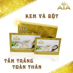 Sữa tắm trắng toàn thân AIA 4 in 1 - Whitening Cream And Body Lotion