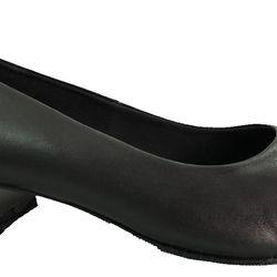 Giày bít nữ mũi tròn gót 3cm lớn