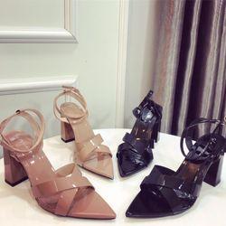 Giày sandal mui nhọn da giá sỉ