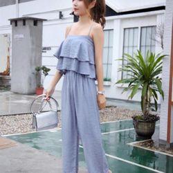 Áo 2d 2 tầng cực xinh có thun quần ống rộng giá sỉ, giá bán buôn