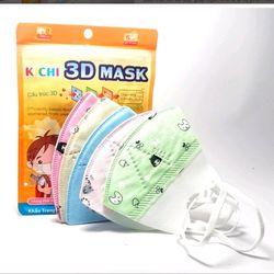 Khẩu trang Kichi 3D Mask cho bé yêu Hàng công ty giá sỉ