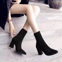 Giày boot nữ mùa đông sang trọng- BN198 giá sỉ