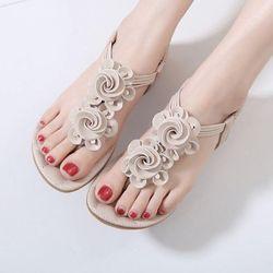 Giày sandal kết hoa cao cấp- SD57 giá sỉ