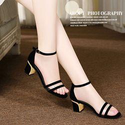 Giày cao gót quai ngang trong cao Cấp - G465