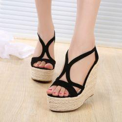 Giày sandal cói dây khóa hậu cao cấp Dư - SD369 giá sỉ