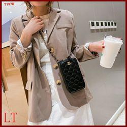 Túi điện thoại 2 khóa Túi đeo chéo đựng điện thoại giá sỉ, giá bán buôn