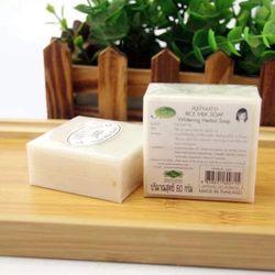 Sáp Tắm Trắng Sữa Gạo Thái Lan 1 lốc 12 bánh