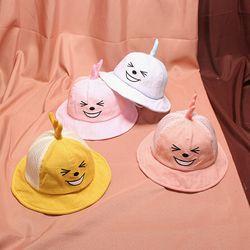 mũ bucket mặt cười tai giá sỉ