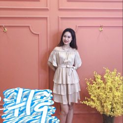 Đầm váy đầm trễ vai siêu đẹp giá sỉ
