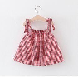 Váy caro 2 dây hình quả dứa siêu xinh giá sỉ