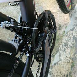 xe đạp địa hình Alcott MT02 màu đỏ đen giá sỉ, giá bán buôn