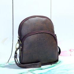 Túi đeo chéo nữ CNT TĐX 39 sành điệu NÂU giá sỉ