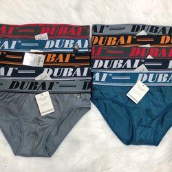 Quần lót nam thun lạnh bản lớn chữ DUBAI giá sỉ, giá bán buôn