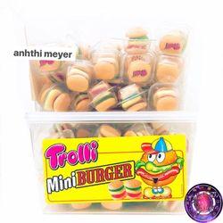 Kẹo Dẻo Hamburger Trolli 600g - Mỹ giá sỉ