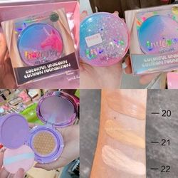 Phấn Nước Nee Cara Colorful Unicorn Cushion Foundation N668
