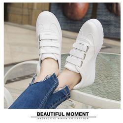 Giày Nữ Đế Bánh Mì Xinh Xắn Cá Tính D2594 Giày sneaker độn đế giá sỉ, giá bán buôn