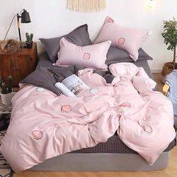 Bộ Chăn Ga Gối Cotton Korea NS150