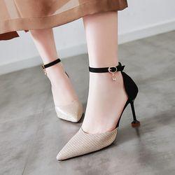 Giày cao gót cao cấp Mã QGN giá sỉ