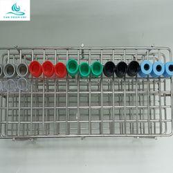Khay inox 90 chỗ chứa ống 5ml và 7ml giá sỉ